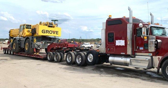 Shipping heavy equipment to Hawaii