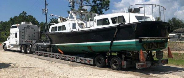 California Small Boats Hauling