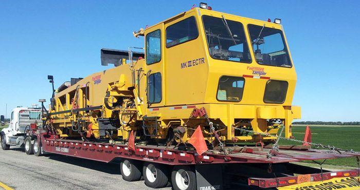Machinery Transport San Diego California
