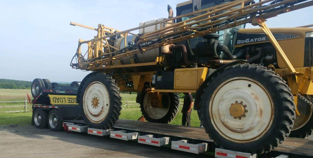 California Farm Equipment Hauling 3