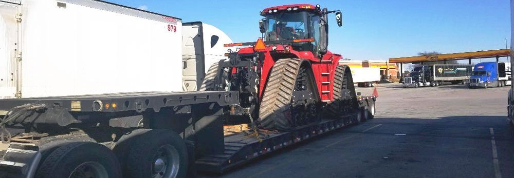 California Farm Equipment Hauling, Agricultural Machinery Transport California