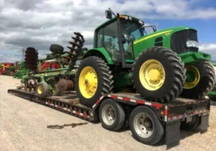 California Farm Equipment Hauling, Farm Equipment Transport Services in California