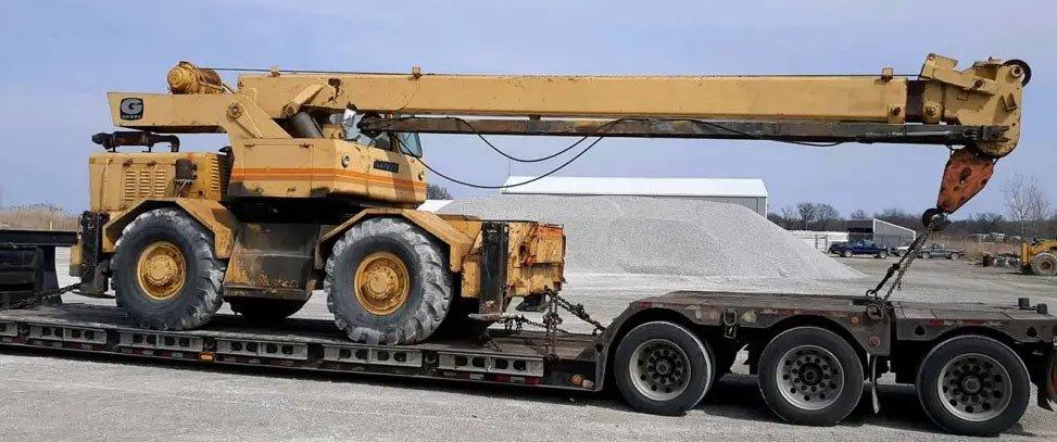 California Mining Equipment Hauling, California Transportation for Mining and Construction Machinery