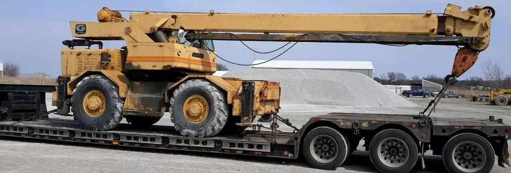Construction Equipment Transport California, Heavy construction equipment haulers in California