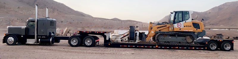 Heavy equipment shipping California to Kansas, Farm equipment hauling California to Kansas