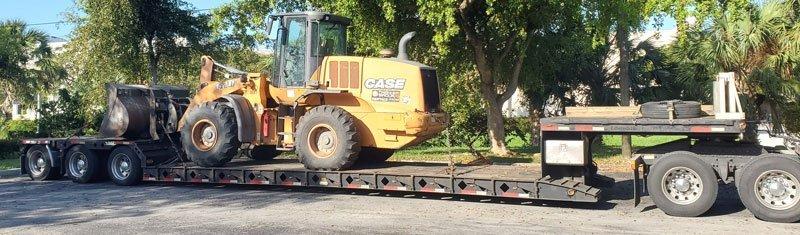 Heavy haulers California to Michigan, California to Michigan Heavy Equipment Transport