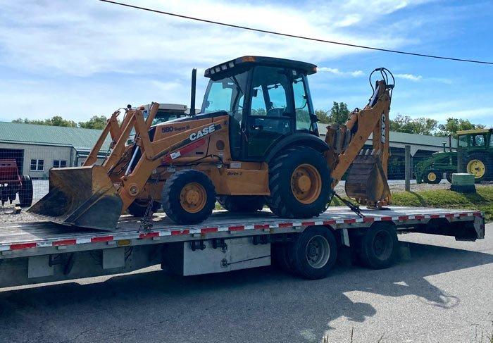 California to Ohio Heavy Equipment Transport, California to Ohio Heavy equipment shipping