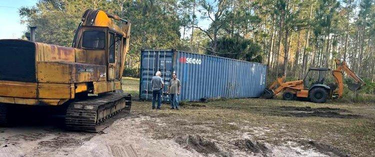 Containerized Freight Hauling California to Iowa, California to Iowa Construction equipment transport