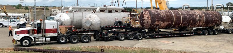 California Tank shipping, Transporting propane tanks