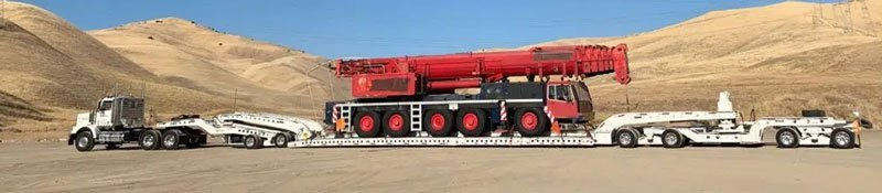 California to South Dakota containerized freight hauling, California to South Dakota construction equipment transport