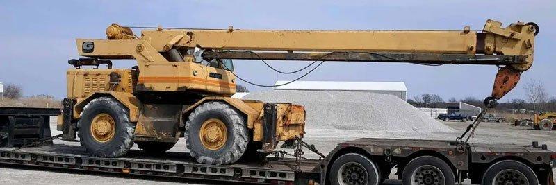 California to South Dakota heavy equipment transport, California to South Dakota heavy haulers shipping