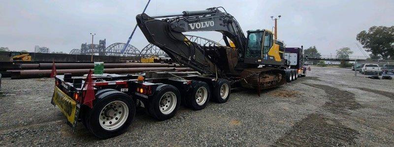 California to Wisconsin Heavy Haulers, construction equipment transport California to Wisconsin